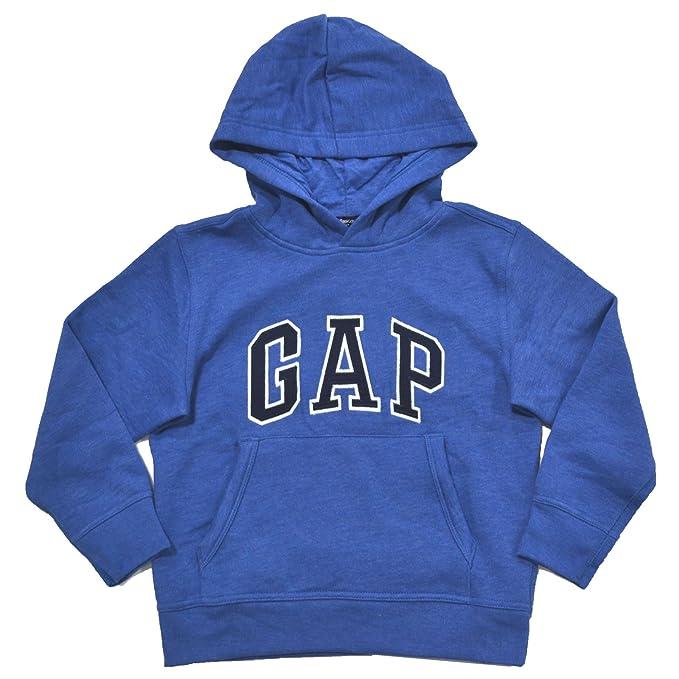 Brecha niños forro polar Arch Logo - Sudadera con capucha - Azul - : Amazon.es: Ropa y accesorios