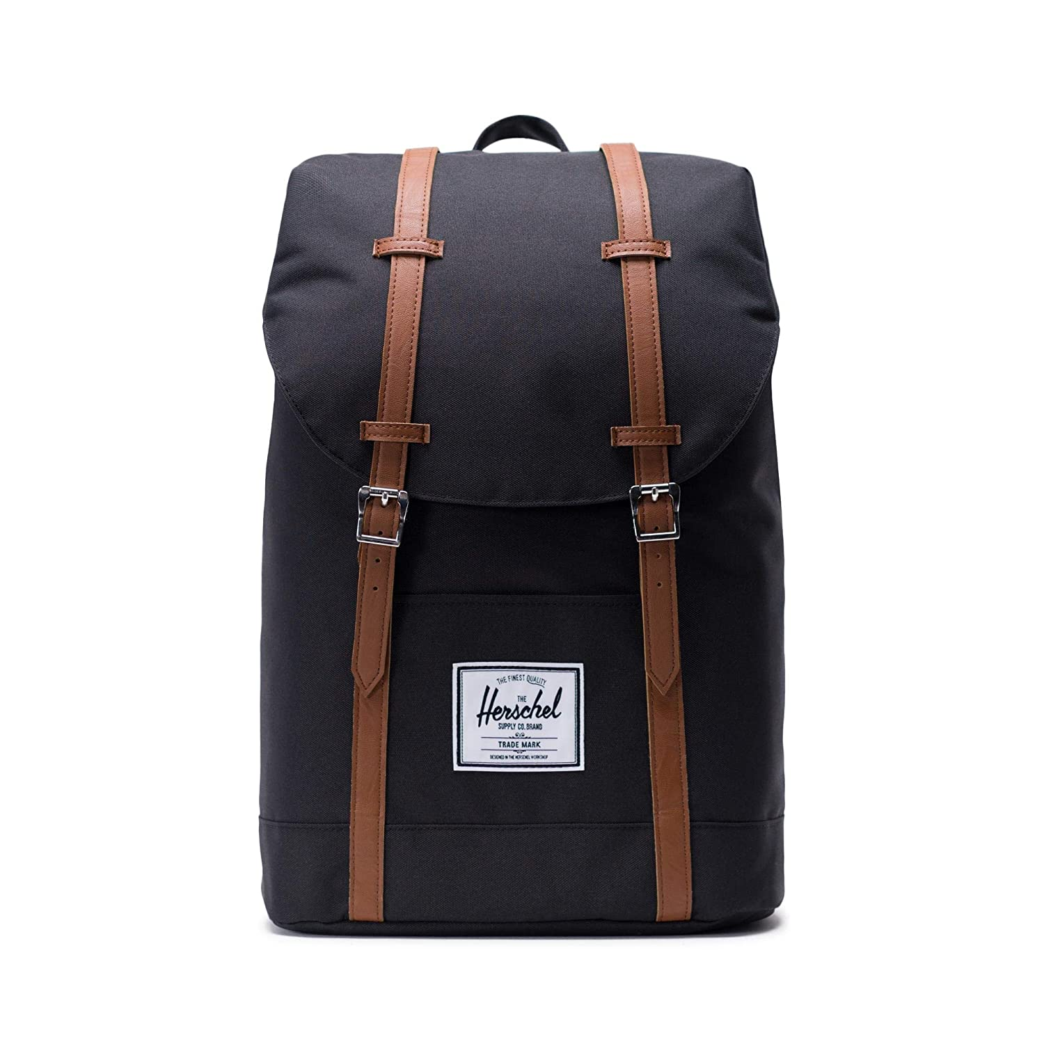 4cb19395e734 Amazon.com | Herschel Retreat Backpack-Black | Kids' Backpacks