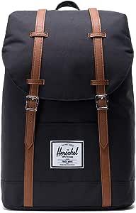 Herschel Unisex-Adult Retreat Backpack, Black Synthetic - 10066