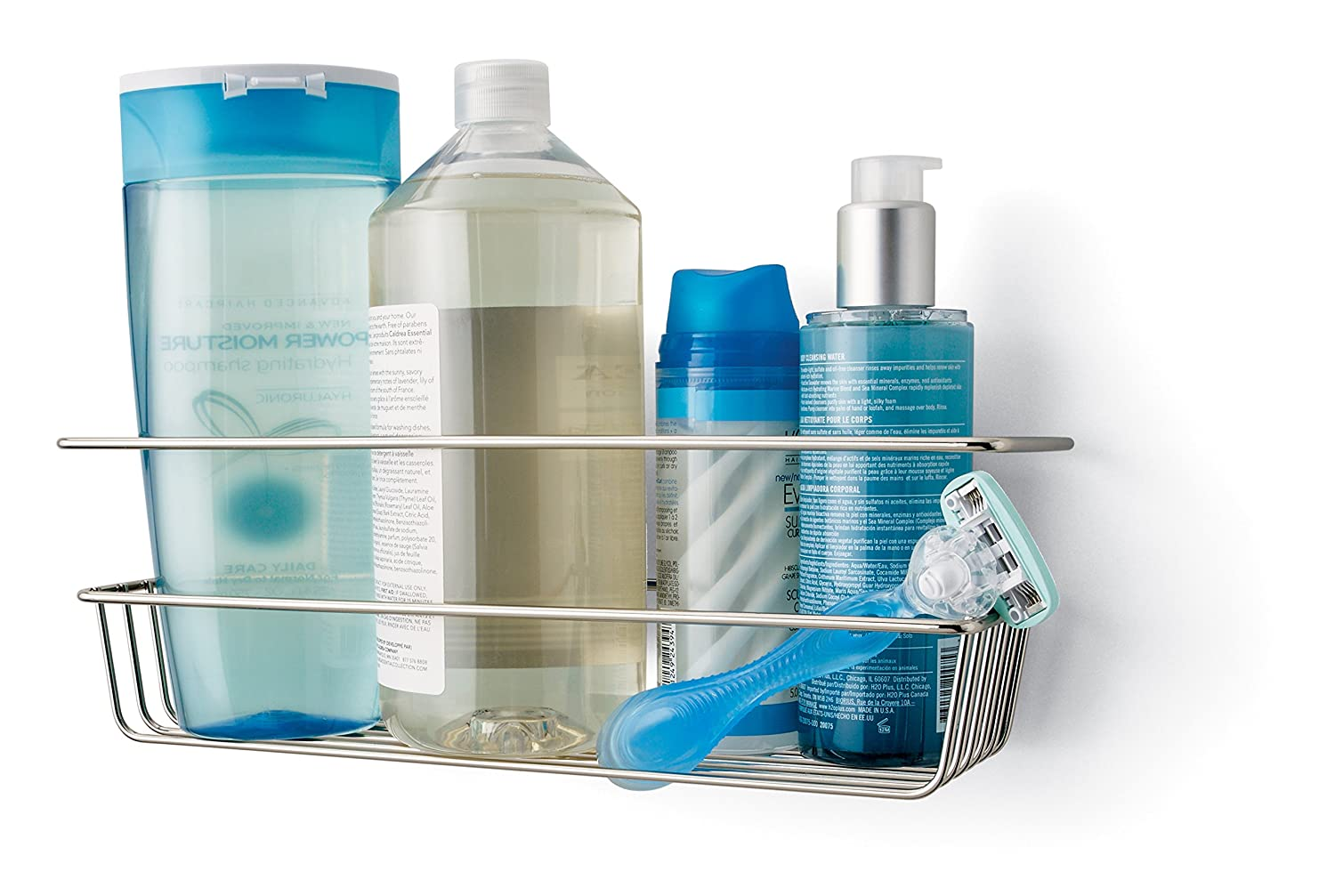 Amazon Add-On: $5.53 (Reg. $7.81) Command Shower Caddy, Satin Nickel ...