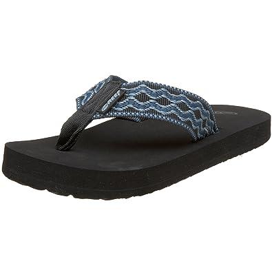 f41fd653bbfc Reef Men s Smoothy Black Denim Sandals R0313Bld 4 UK  Amazon.co.uk ...