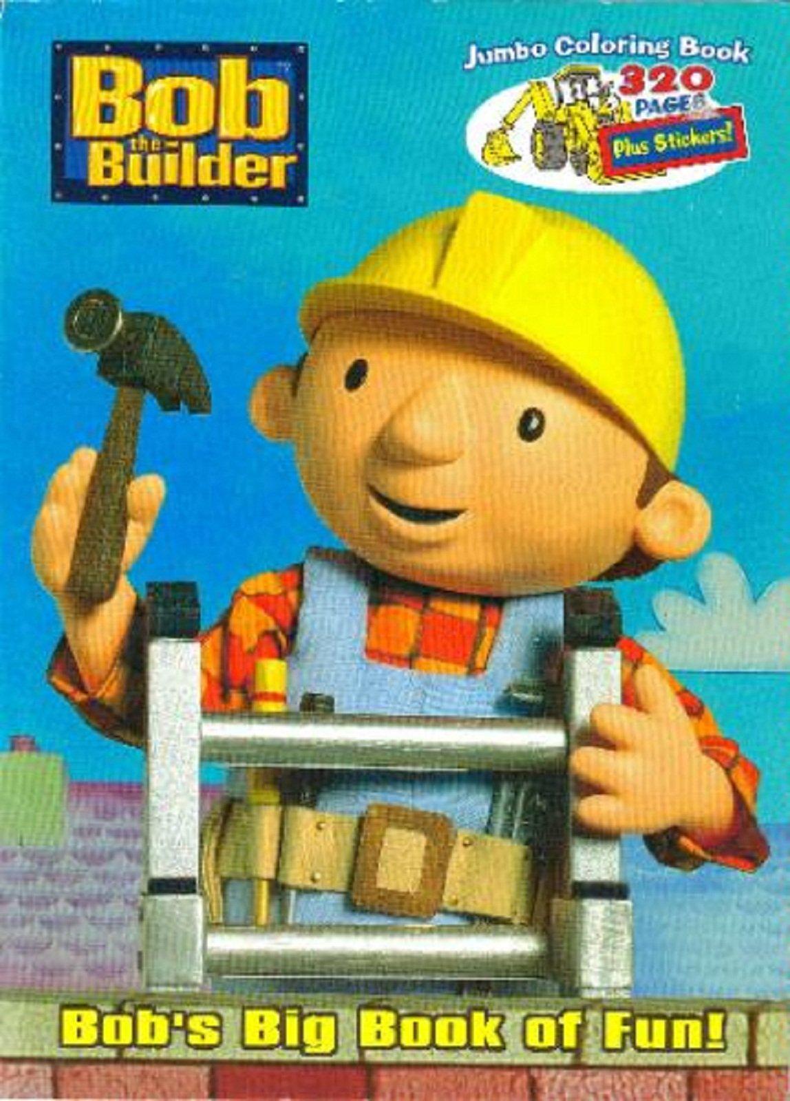 Download Bob the Builder: Bob's Big Book of Fun! (Bob the Builder Jumbo Coloring Books) ebook