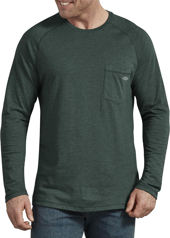 Dickies Men's Temp-iq Performance Cooling Long Sleeve T-Shirt