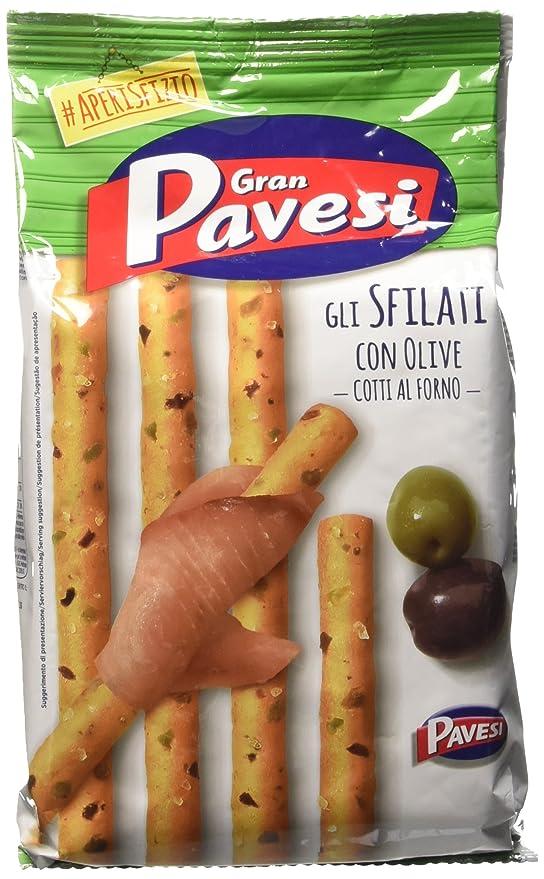 1 opinioni per Gran Pavesi Grissini Gli Sfilati alle Olive, 200 gr