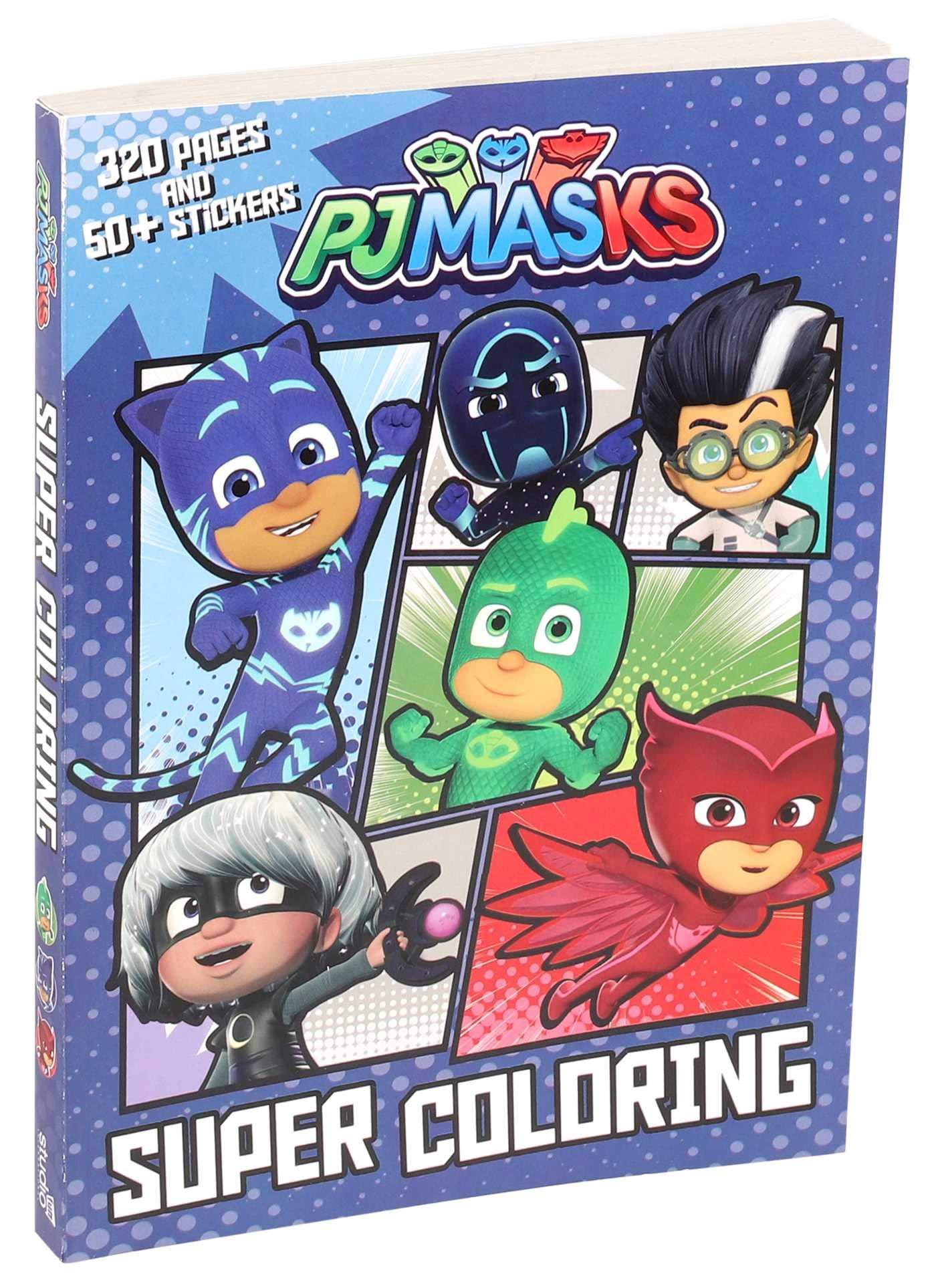 PJ Masks Super Coloring (Coloring Books) : Editors of Studio ...