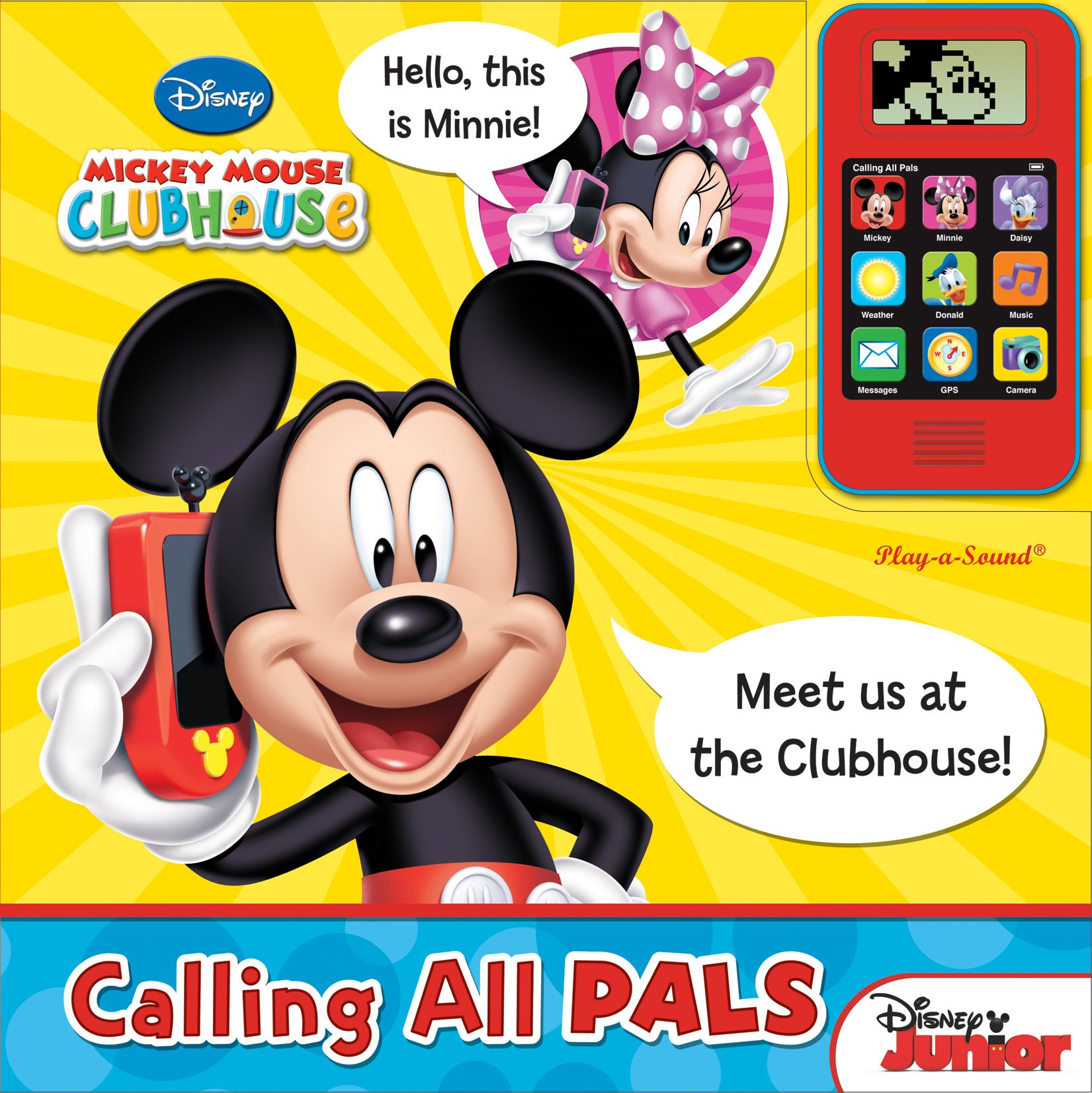 Mickey Mouse Clubhouse Cell Phone and Sound Book: Calling All Pals ebook