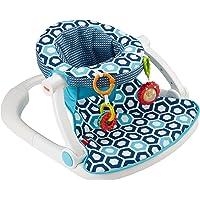 Fisher-Price Sit-Me-Up - Asiento para suelo, Geo azul, Azul