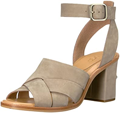 38709346fe8a Amazon.com  UGG Women s Sandra Heeled Sandal  Shoes