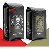 DEATH WISH Coffee - The World's Strongest [1 lb] and VALHALLA JAVA Odinforce Blend [12 oz] Whole Bean Coffee in a Bundle/Bulk