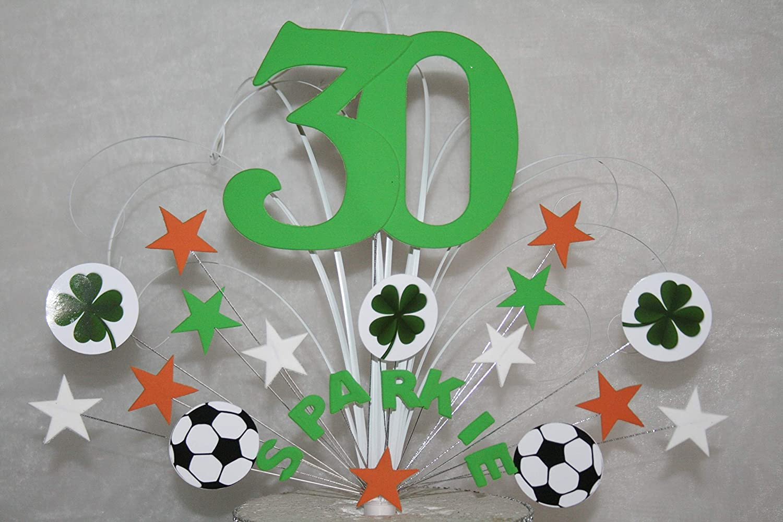 Sensational Cake Topper Cake Decoration Irish Birthday Cake Any Age Any Colour Personalised Birthday Cards Veneteletsinfo