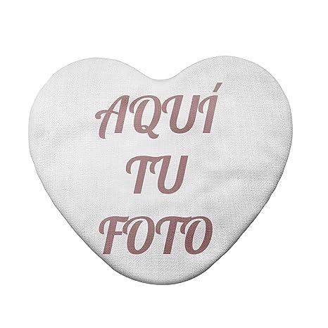 AR Regalos Cojín Personalizado con Foto (Corazón de 40 x 45 ...