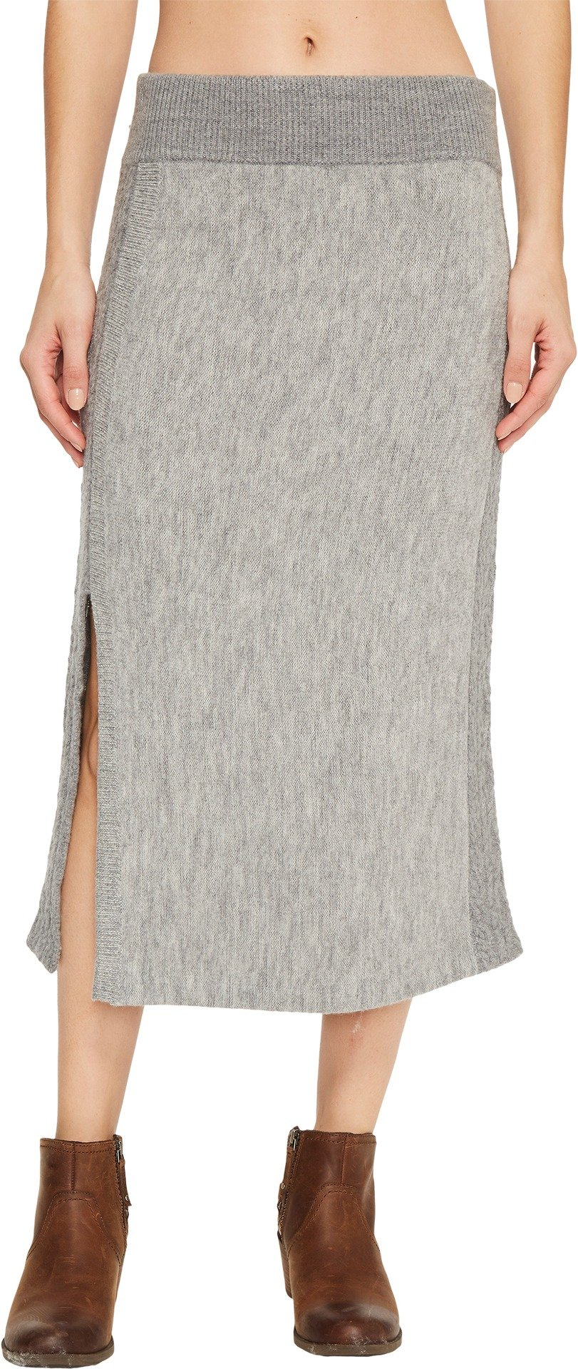 Toad&Co Women's Kilda Sweater Skirt Heather Grey X-Small