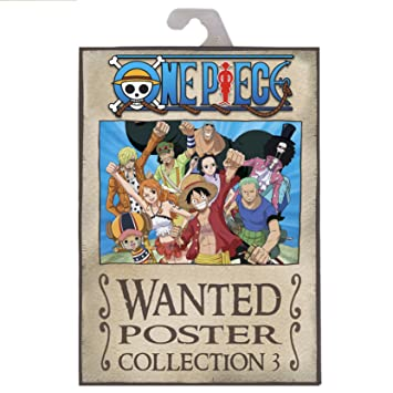 ABYstyle ABYDCO426 Abysse Corp_ABYDCO426 - Cartera 9 Carteles Wanted Luffys Crew (21X29, 7) X5, Multicolor