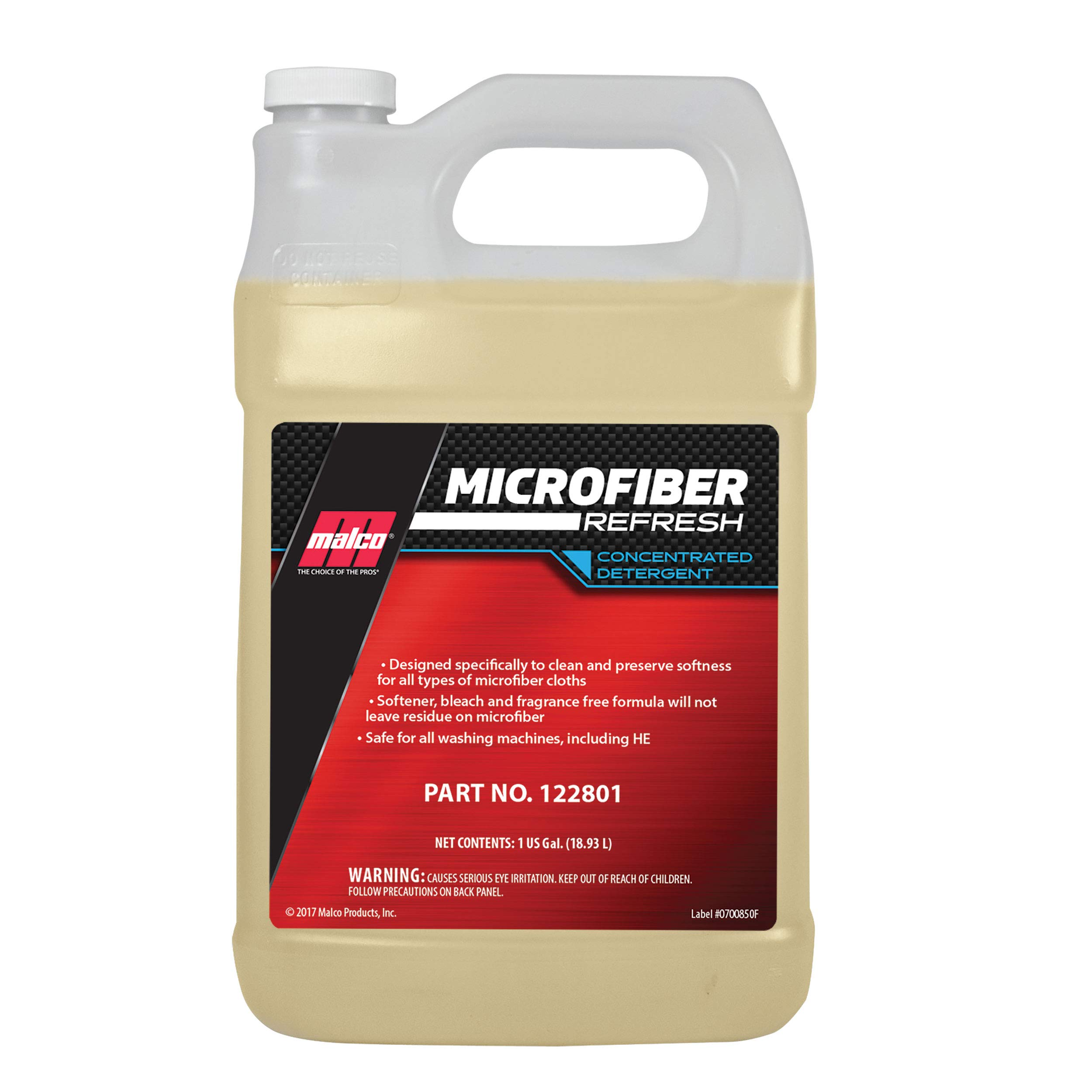 MALCO MICROFIBER REFRESH CONCENTRATED DETERGENT (1 Gallon) - 122801