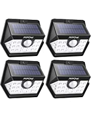 Mpow Solar Lights, 20 LED Super Bright Motion Sensor Security Lights, Solar Powered Security Outdoor Lights, Upgraded 120¡ã Wide-angle Sensor Head, Water-Proof