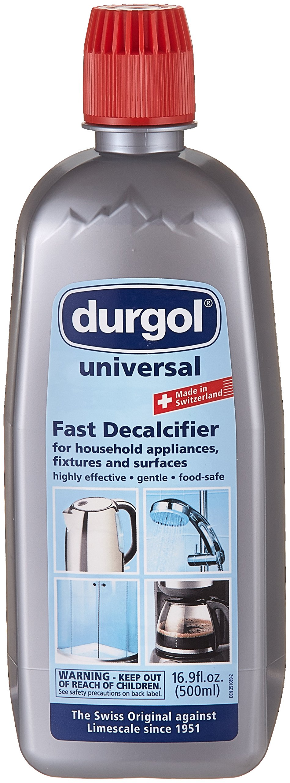 Durgol 0296 Universal Express Multipurpose Descaler/Decalcifier, 16.9 Fluid Ounce Bottle Blue by Durgol (Image #1)