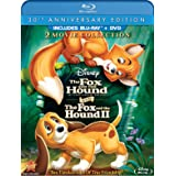 The Fox and the Hound / The Fox and the Hound Two (Three-Disc 30th Anniversary Edition Blu-ray / DVD Combo in Blu-ray Packagi