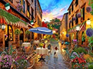 Biking Through Italy Jigsaw Puzzle 550 Piece