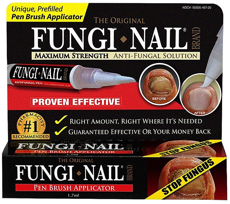 Fungi Nail Pen Appl Carto Size 1ct Fungi Nail Pen Applicator Carton(Pack of 2) : Nail Fungicides : Beauty