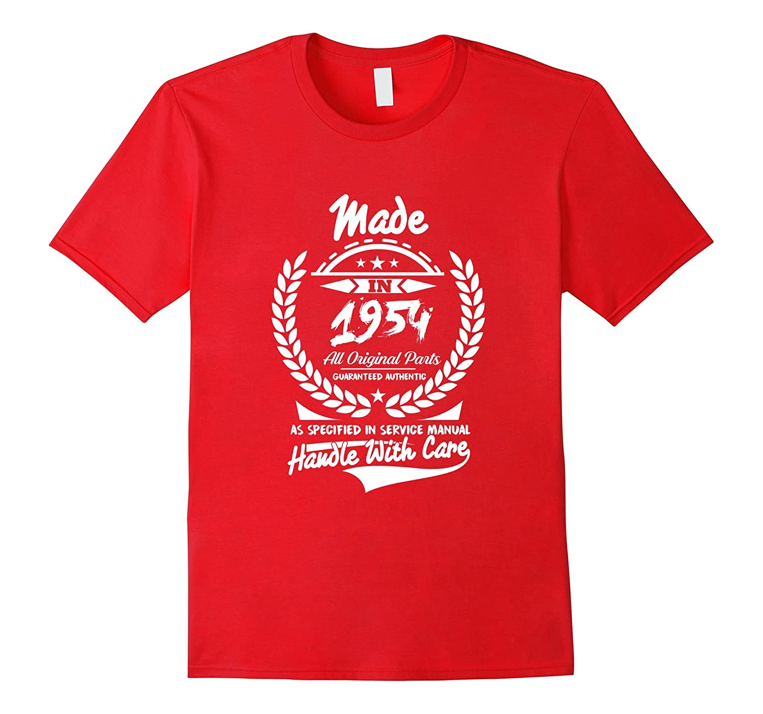 Made In 1954 62 Years Old 62nd Birthday Gift Idea Tee Shirt-Art