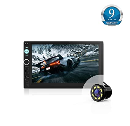 Best Double Din Car Stereo 2020 Woodman WM 2020 Doubled in with FM/Bluetooth: Amazon.in: Electronics