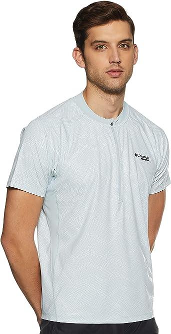 Columbia Hombre Camiseta de manga corta, F.K.T. II Short Sleeve Shirt, Poliéster, 1839971: Amazon.es: Ropa y accesorios
