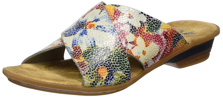Rieker 63460, Mules Para Mujer 38 EU|Multicolor (Ice-multi / 90)