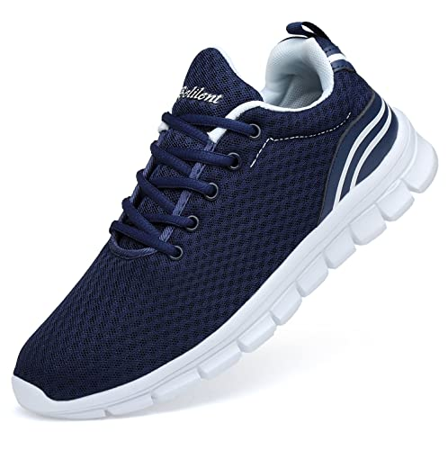 8748d4dfeaf01 eyeones Mens Walking Running Sneakers Tennis Shoes Slip On Casual  Lightweight Fashion Sports Workout Athletic Gym