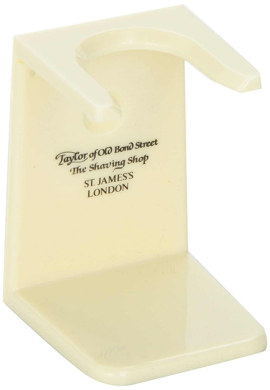 Taylor of Old Bond Street Imitation Ivory Shaving Brush Stand, 1-Count Spicy World of USA Inc 05005