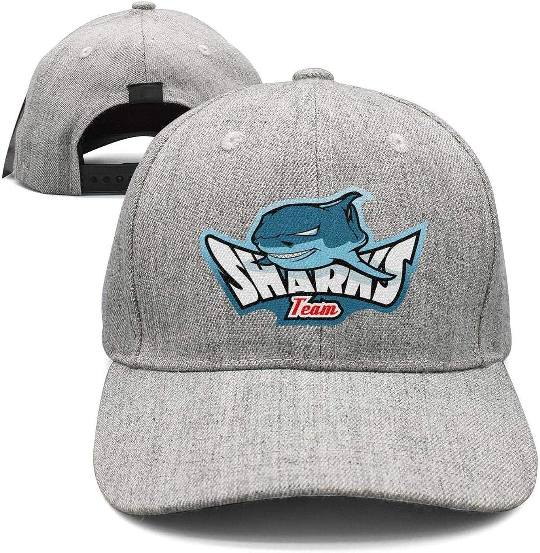 Women Men Ferocious Cool Shark Teeth Trucker Hat Adjustable Summer Cap Hip-Hop caps