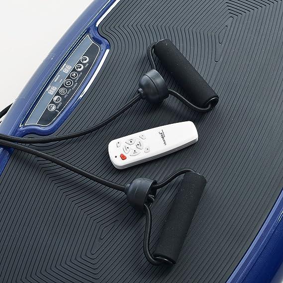 Skandika Home 600, Plataforma vibratoria, color Azul: Amazon.es: Deportes y aire libre