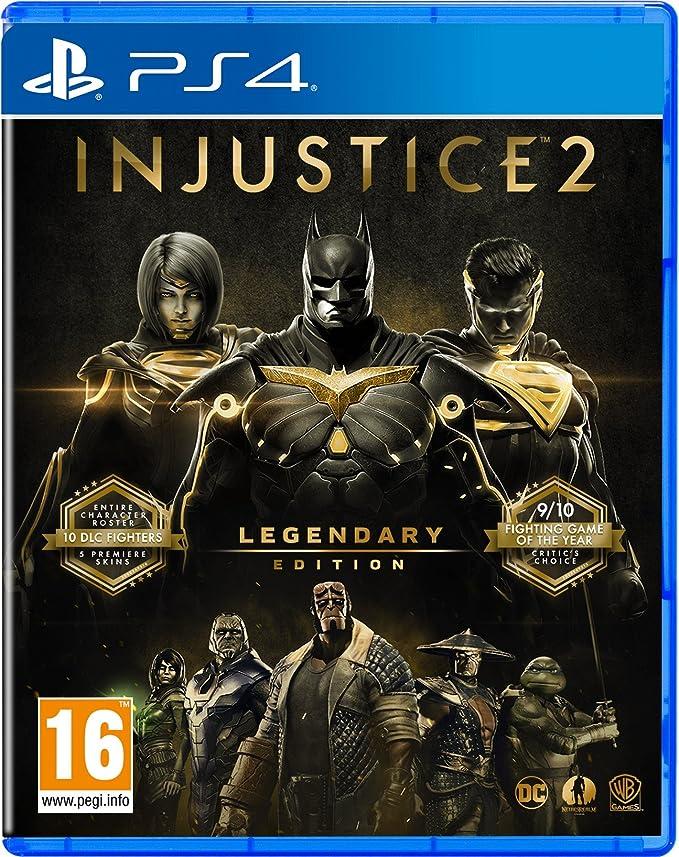 Injustice 2 Legendary Edition - PlayStation 4 [Importación inglesa]: Amazon.es: Videojuegos