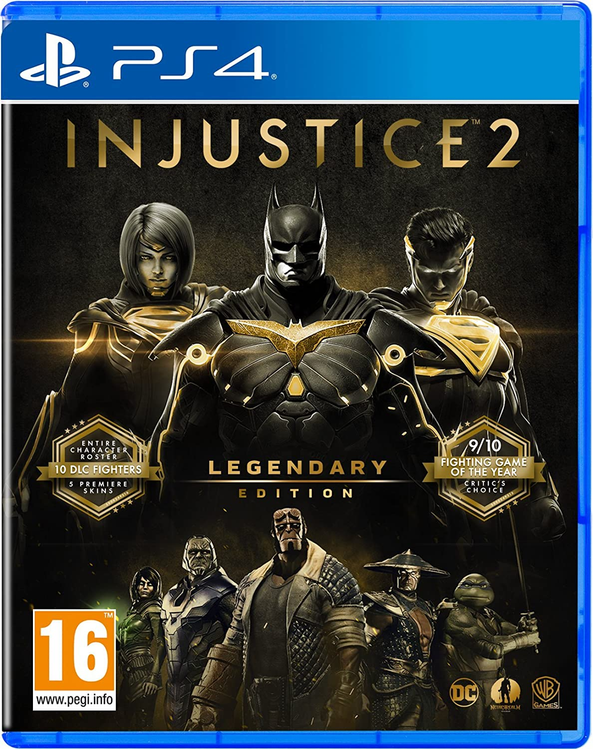 Injustice 2 Legendary Edition - PlayStation 4 [Importación ...