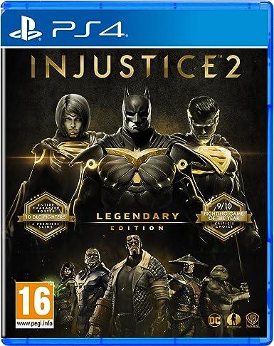 Injustice 2 Legendary Edition - PlayStation 4 [Importación ...