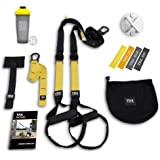TRX All In One Home Gym Bundle: Includes All-In-One Suspension Trainer, Indoor & Outdoor Anchors, TRX XMount Wall Anchor…