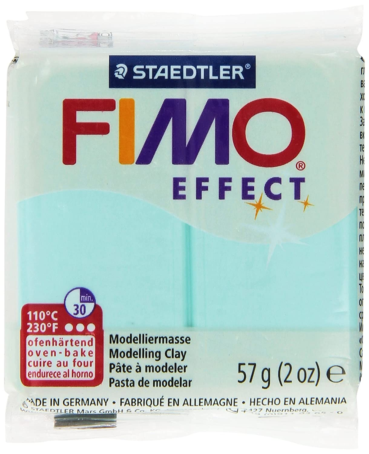 Fimo Soft Polymer Clay 2 Ounces-Mint Notions - In Network EF8020-505J