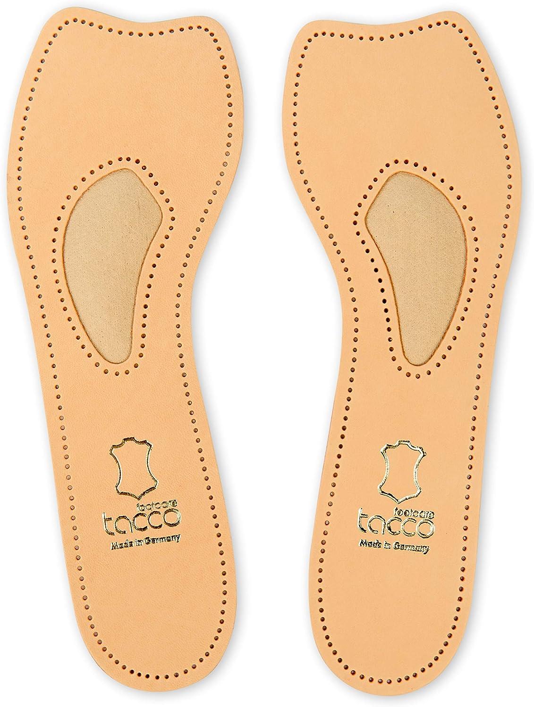 parfait pour les escarpins talons Semelles 3//4 en cuir Tacco Exclusive sans orteils support pour vo/ûte plantaire en cuir v/éritable chaussures de sport toutes les tailles femmes
