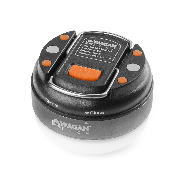 WAGAN 4301 Camplites Dome Lantern Flashlight LED for Camping, Hiking, Emergencies
