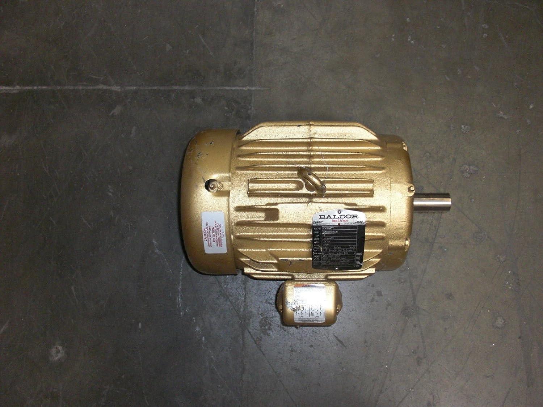 Baldor em3660t general purpose ac motor 3 phase 182t for Baldor permanent magnet motors