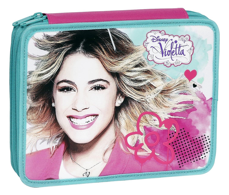 Maxi Estuche Modelo Violetta con Colores, rotuladores y ...