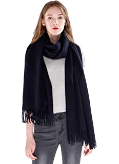 462d06d09 cashmere 4 U Women's 100% Cashmere Wrap for Travel Shawl Stole - Extra  Large Scarf