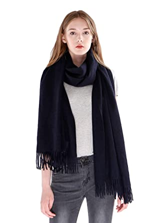 7a2810088 cashmere 4 U Women's 100% Cashmere Wrap for Travel Shawl Stole - Extra  Large Scarf