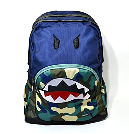 Mochila Smiley World Organizzato Fantasia Azul Camuflaje Escuela oferta