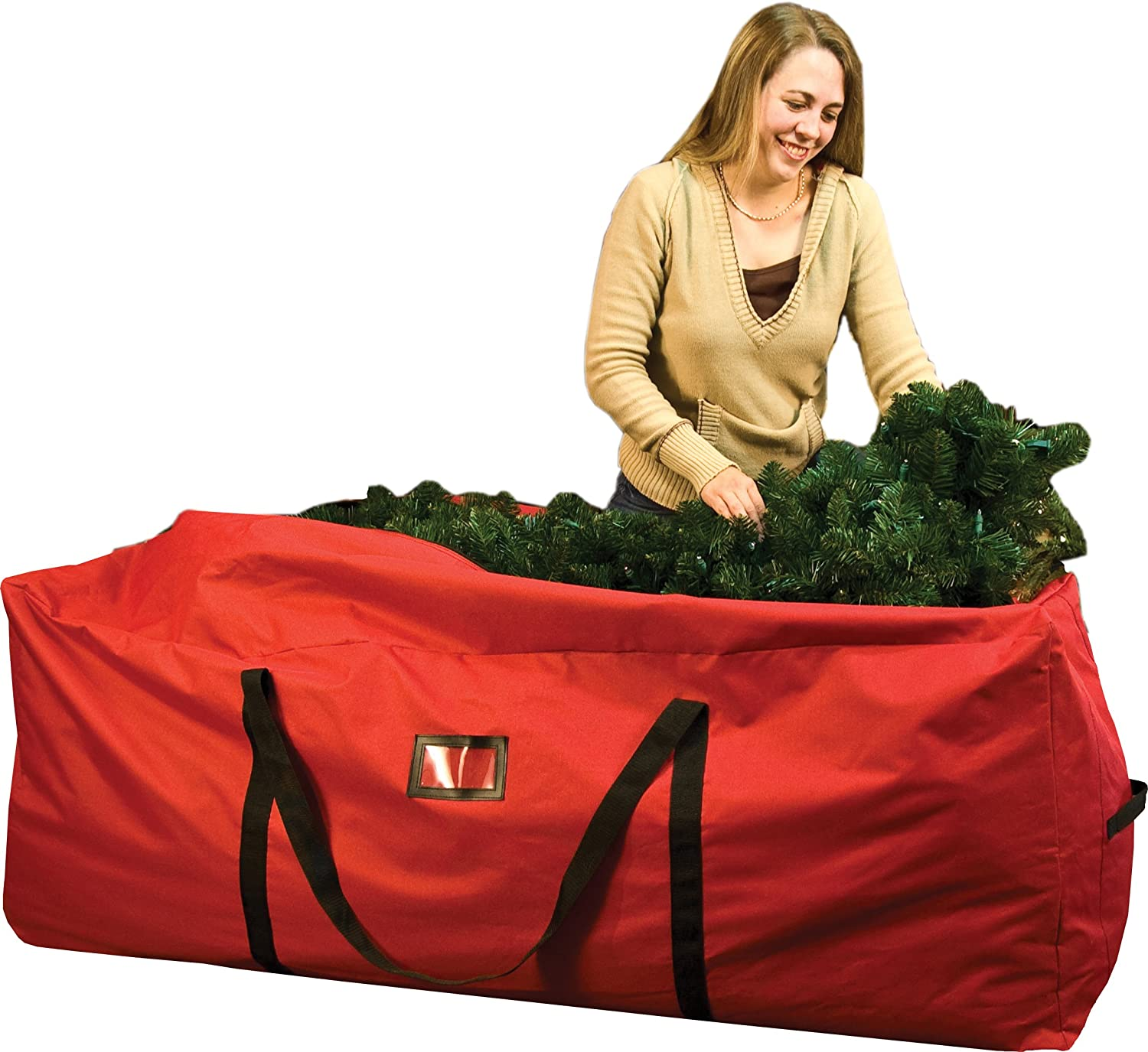 Santas Bags Rolling Tree Storage Duffel, for 6 to 9-Foot Trees SB-10114