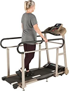 EXERPEUTIC-TF2000-Recovery-Fitness-Walking-Treadmill-with-Full-Length-Hand-Rails