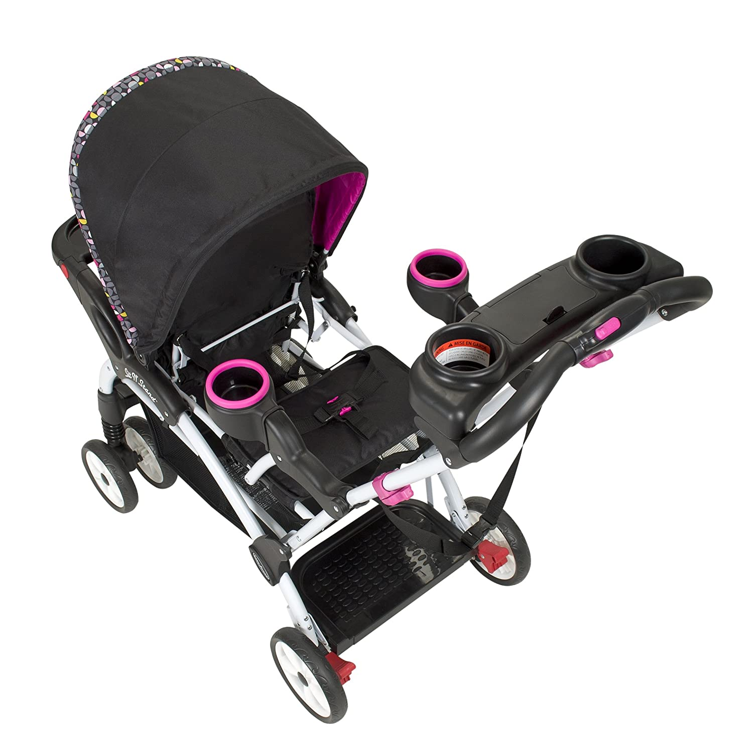 Amazon Baby Trend Hello Kitty Sit N Stand Ultra Stroller Pinwheel
