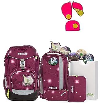 c6633c873d86a Ergobag Pack FeenzauBär Special Edition Schulrucksack-Set 6tlg + Sicherheitsset  Pink