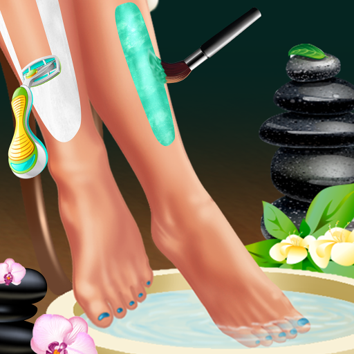Legs Spa and Dress up : makeover game for girls !