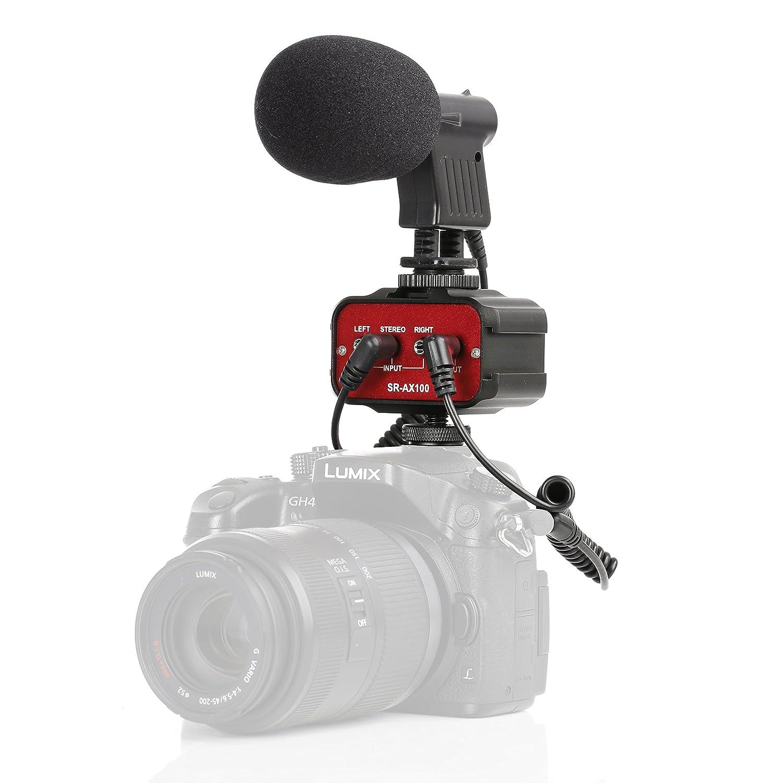 Movo Cine Bundle con Mezclador de 2 Canales de Audio y ...