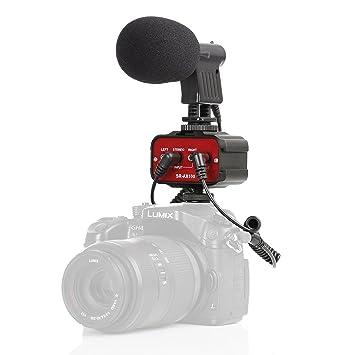 Movo Cine Bundle con Mezclador de 2 Canales de Audio y micrófono ...